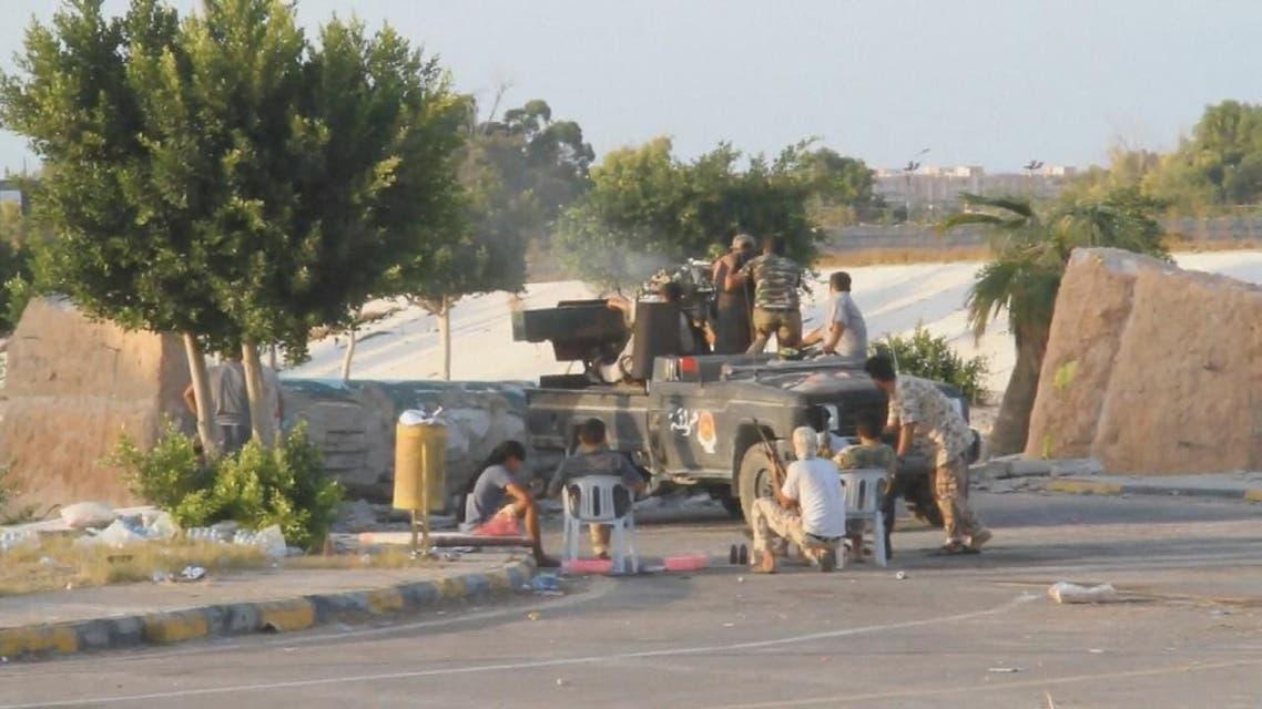 THUMBNAIL_ قوات حكومة الوفاق تسيطر على إذاعة سرت
