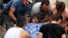 Over 50 civilians killed in Aleppo raids, shelling