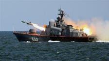 بحر روم کے مشرق میں روسی فوجی مشقوں کا آغاز