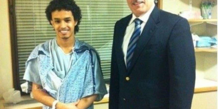 المواطن السعودي عبدالرحمن الحربي
