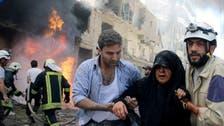 Jets pound Syria's Idlib as battles rage in Aleppo