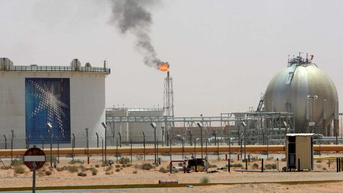 DATE IMPORTED: May 26, 2016 A gas flame is seen in the desert near the Khurais oilfield, about 160 km (99 miles) from Riyadh, Saudi Arabia. (File Photo:Reuters)