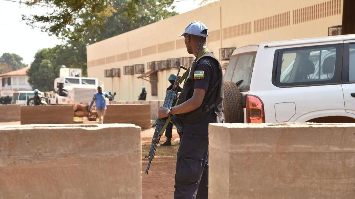 The United Nations Peacekeeping Mission in the Central African Republic said it has arrested 10 heavily armed men, including two former warlords from the majority-Muslim Seleka rebellion (AFP)