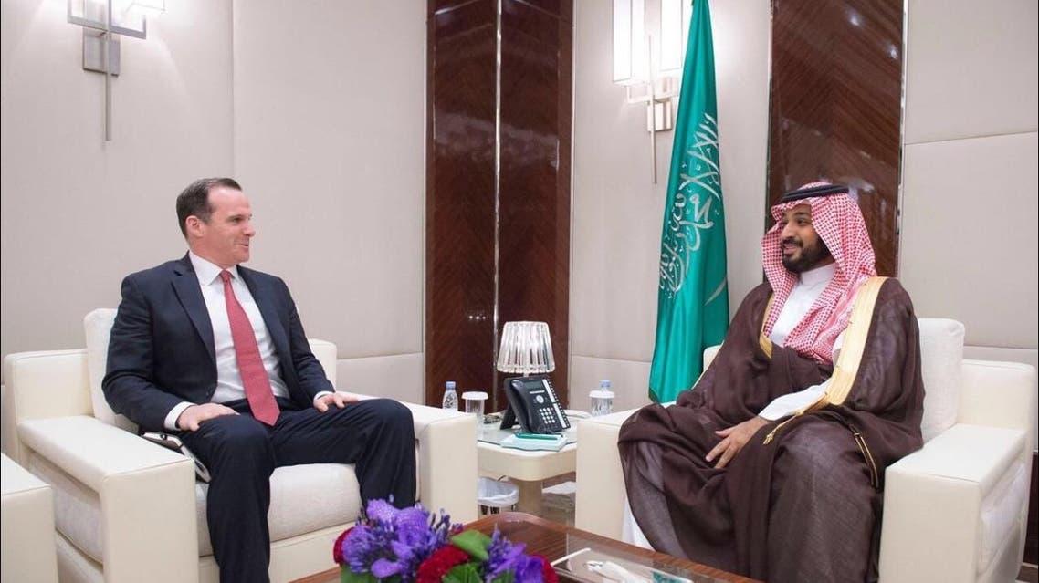 الأمير محمد بن سلمان بحث حرب داعش مع المبعوث الأميركي