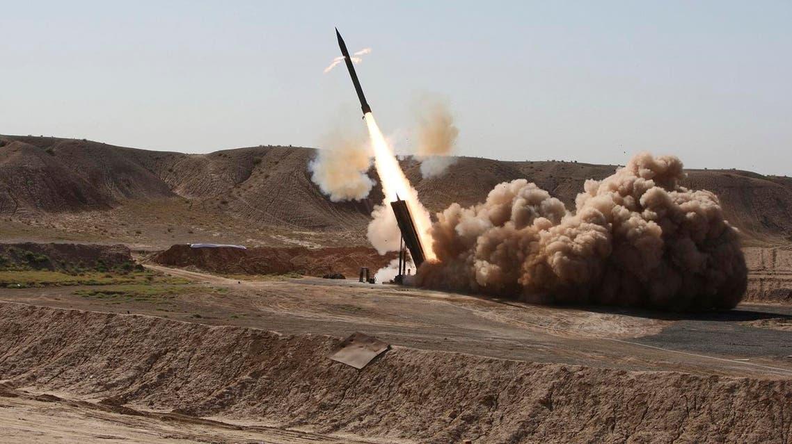 zelzal missile iran AP