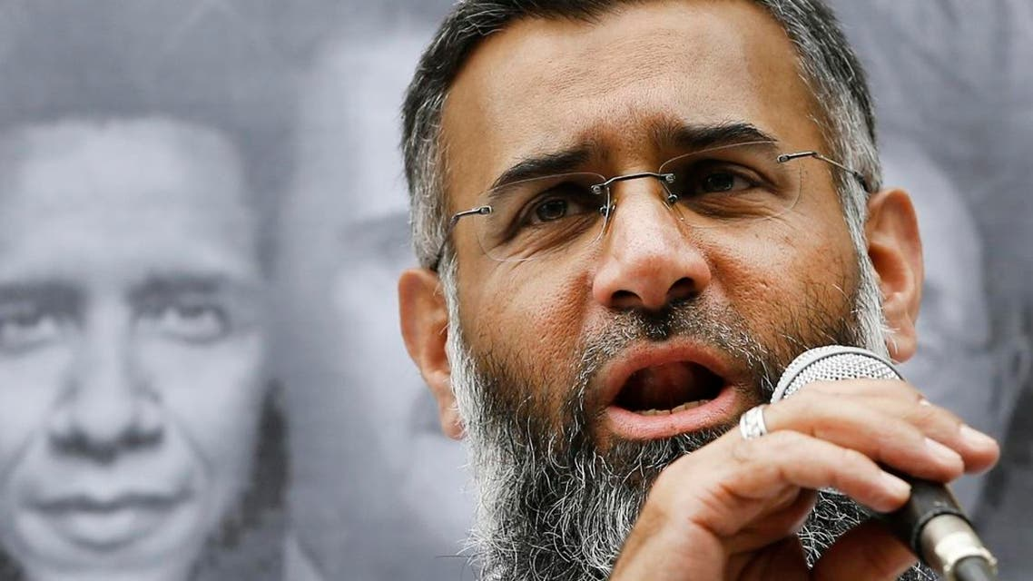 This is a Friday, Aug. 23, 2013 file photo of radical Muslim preacher Anjem Choudary speaks during a Muslim protest outside the Syrian Embassy in London (File Photo:  AP/Kirsty Wigglesworth)