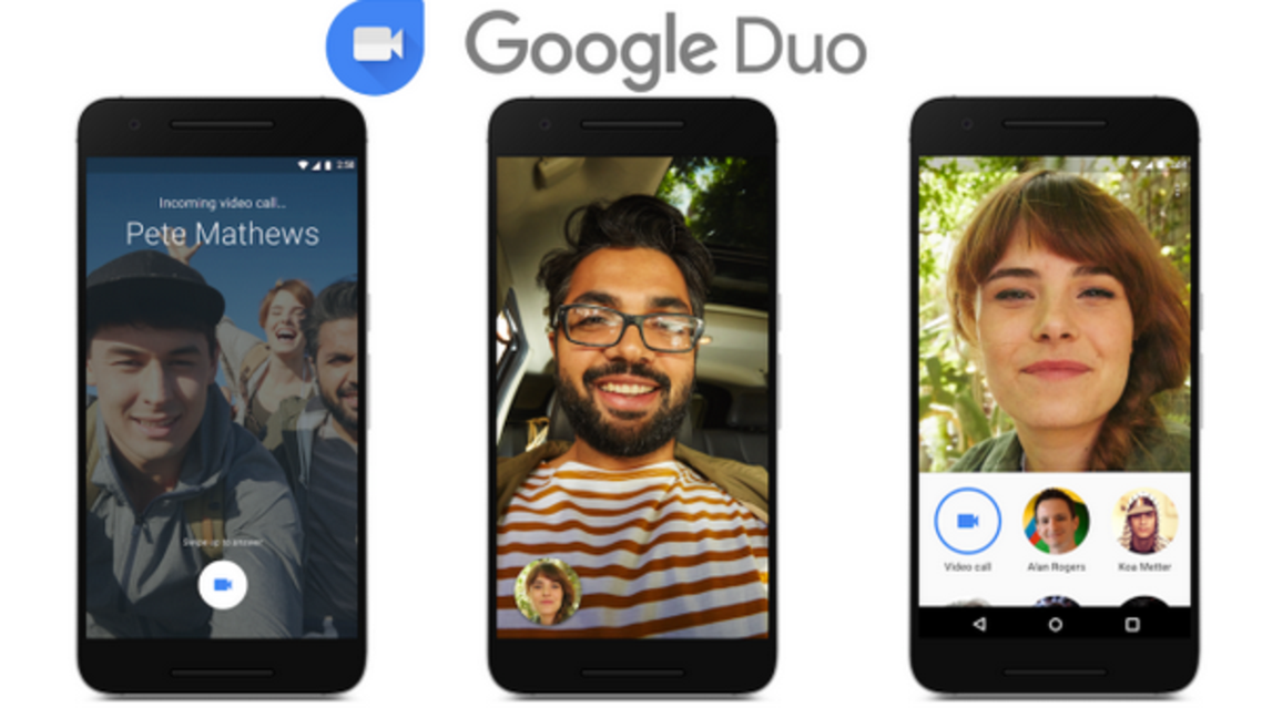 Google app DUO, new video chat feature. (AP)