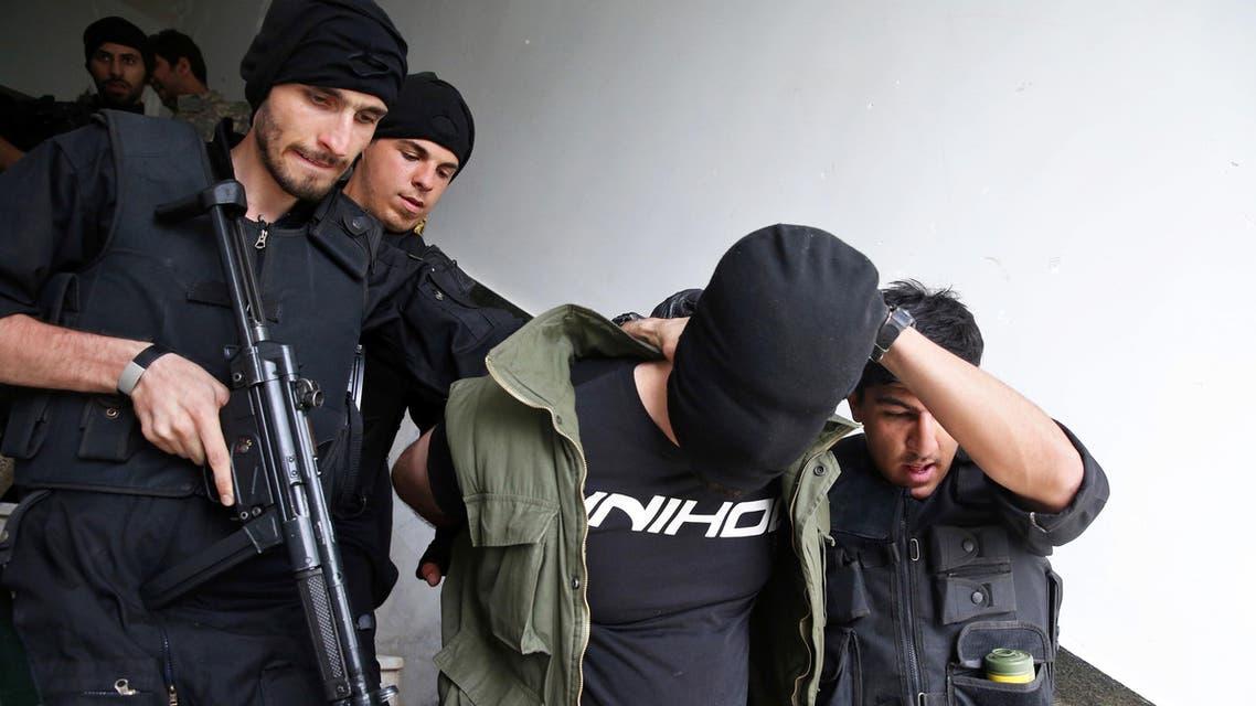Iran revolutionary guards in tehran. (File Photo: AP)