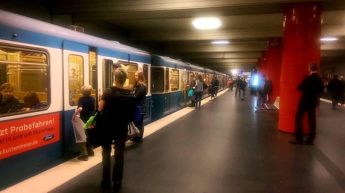 قطار في النمسا