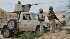 القوات السعودية تدمر عربة للانقلابيين قرب قطاع الحرث