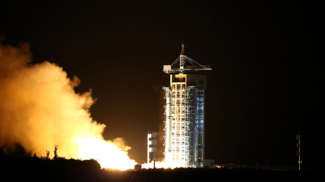 World's first quantum satellite is launched in Jiuquan, Gansu Province, China, August 16, 2016. (Reuters)