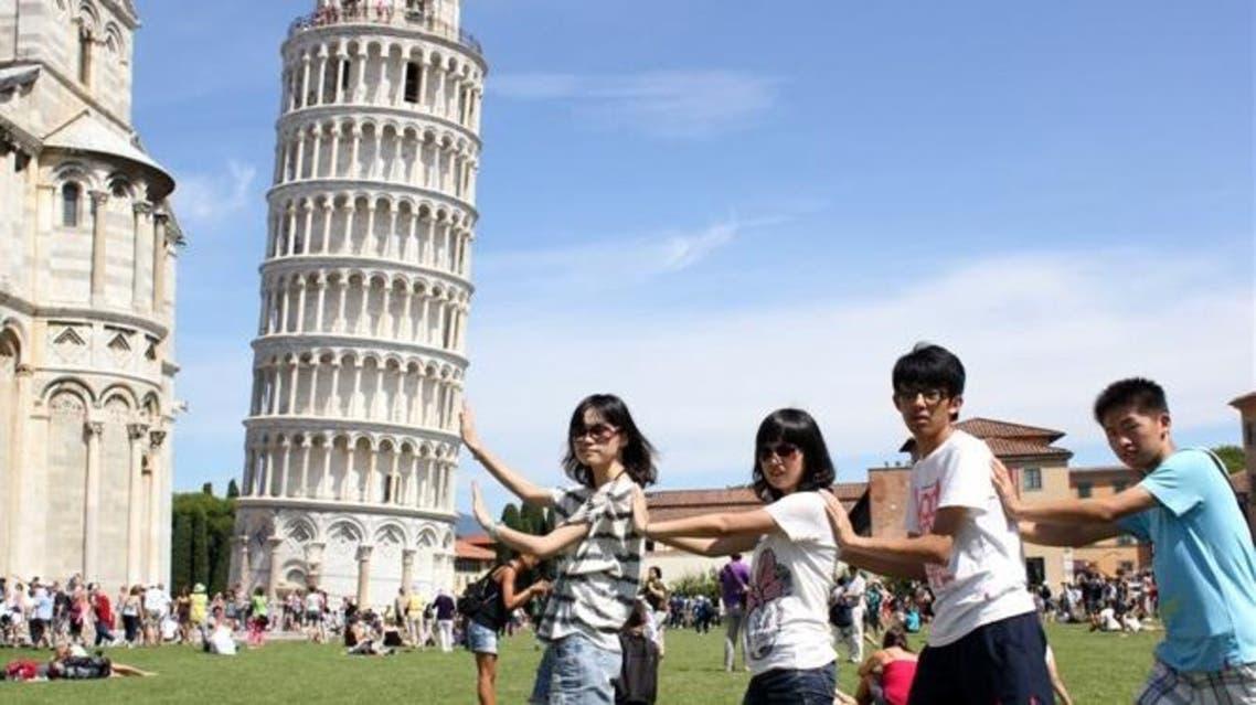 سياح إيطاليا