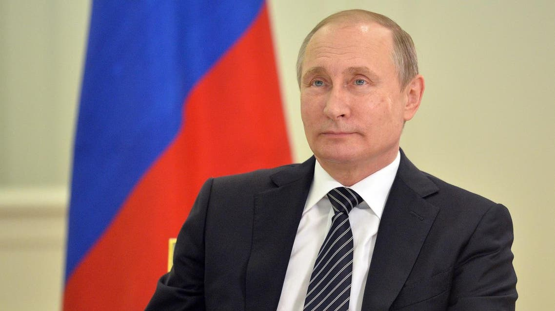 Putin, at a ceremony AP