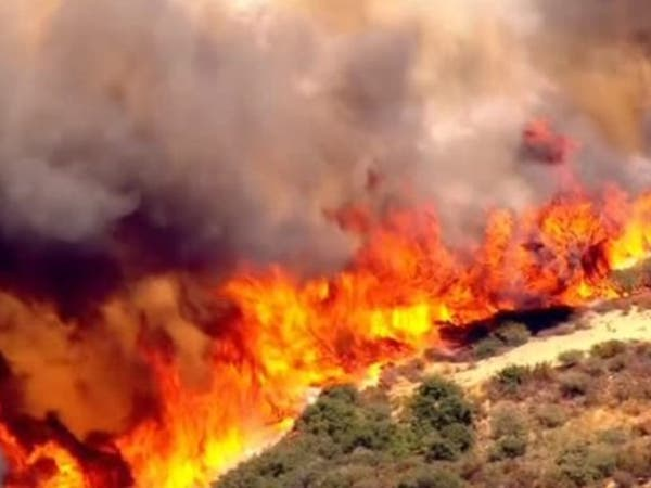 """كاليفورنيا تعلن """"الطوارئ"""" بعد اندلاع حرائق تهدد الآلاف"""