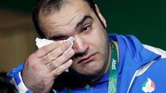 Iran weightlifter cries foul as Georgian takes Rio gold
