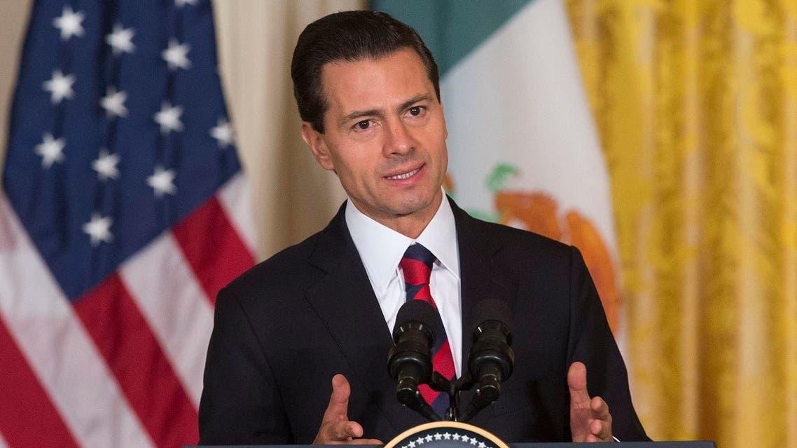 Mexican President - Enrique Pena Nieto, AP