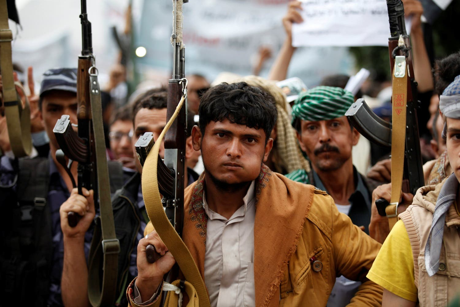 Houthis have been allegedly concealing fighters close to civilians in Taiz 'with the deliberate aim of avoiding attack'. (File photo: Reuters)