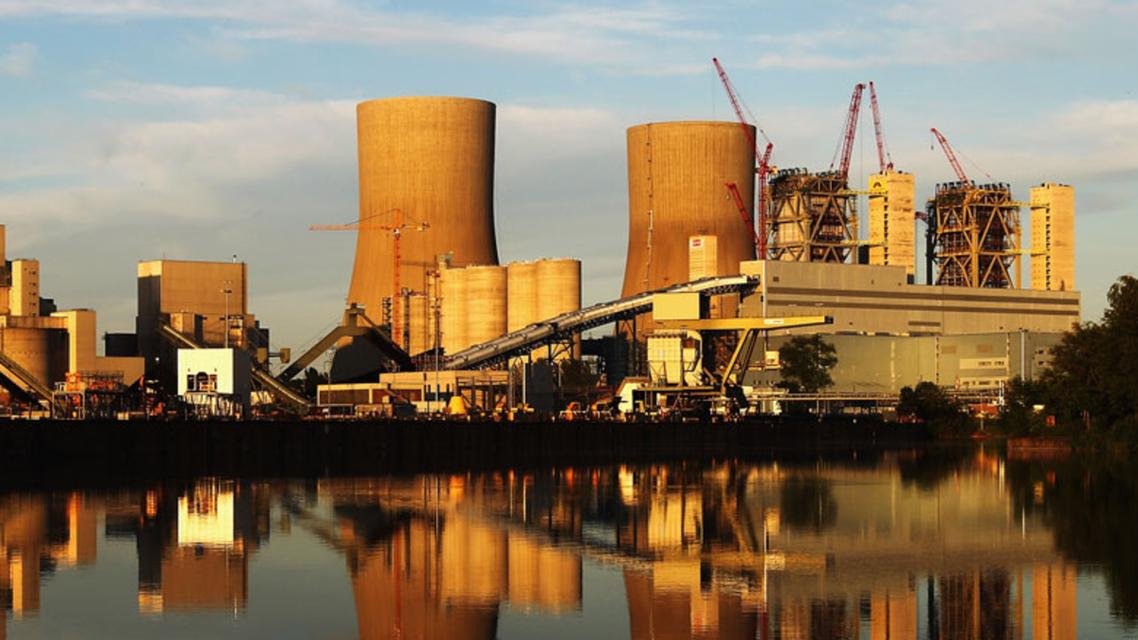 Saudi nuclear power plant. (AP)