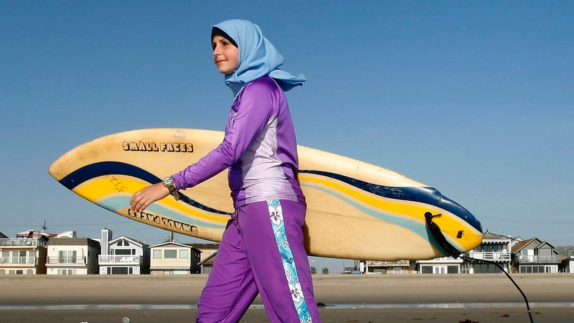 Burkini swimming suit. (File Photo: AP)