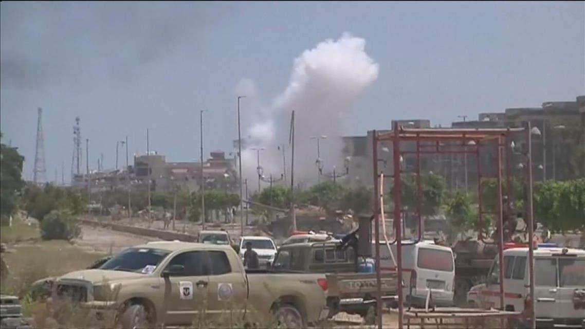 THUMBNAIL_ التطورات في سرت وسير المعارك ضد تنظيم داعش