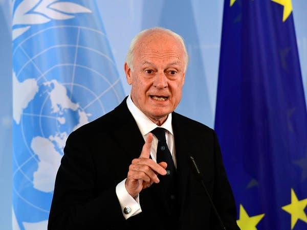 دي ميستورا: من الصعب استئناف المفاوضات السورية مع القصف