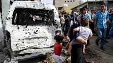Twenty hurt by car bomb near police station in eastern Turkey