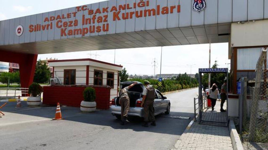 مدخل أحد السجون التركية