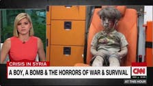 CNN anchor chokes as she describes Aleppo's Omran Daqneesh