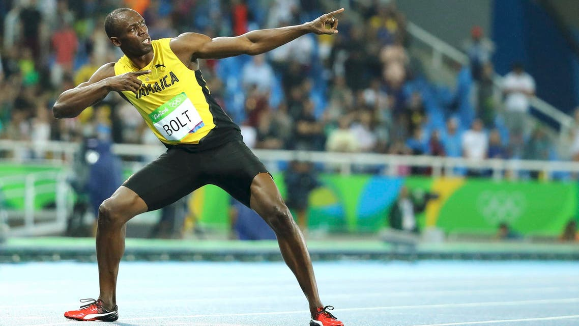 Bolt's time of 19.78 seconds was the slowest of his four straight world championship and three Olympic triumphs over 200 meters. (Reuters)