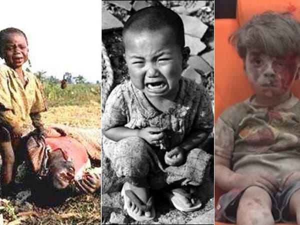 شاهد صور 10 أطفال هزوا ضمير العالم