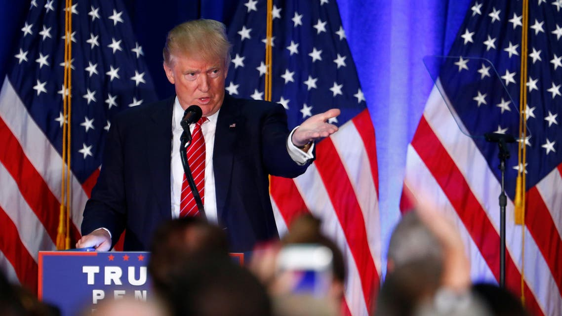 Republican U.S. presidential nominee Donald Trump speaks at Youngstown State University in Youngstown, Ohio August 15, 2016. REUTERS