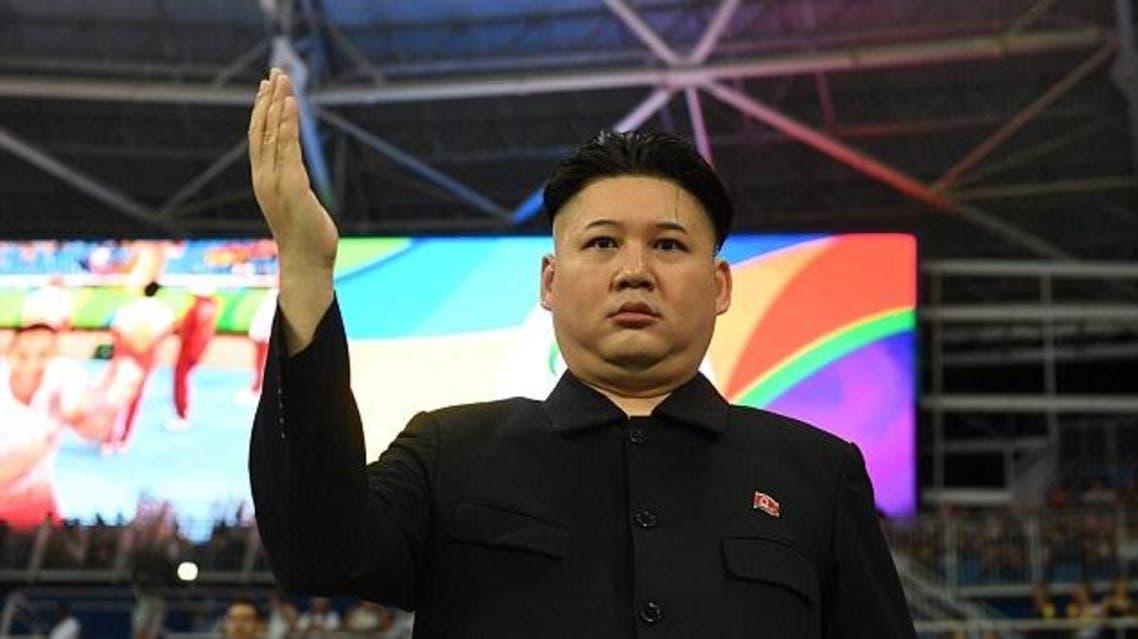 شبيه زعيم كوريا الشمالية