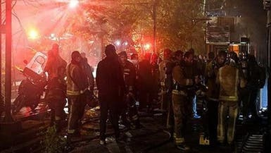 تسمم العشرات بسبب انفجار مصنع بالأهواز