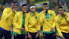 Neymar hands Brazil precious football gold medal