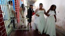 کولمبیا:جیل میں اجتماعی شادی کی منفرد تقریب