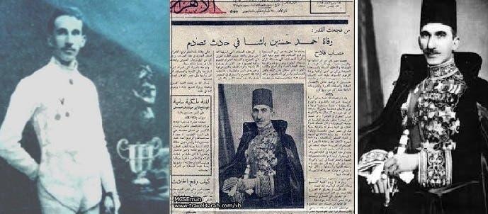 أحمد حسنين باشا، أول عربي شارك بأولمبياد، تزوج أم الملك فاروق، وقتله في 1946 حادث سيارة