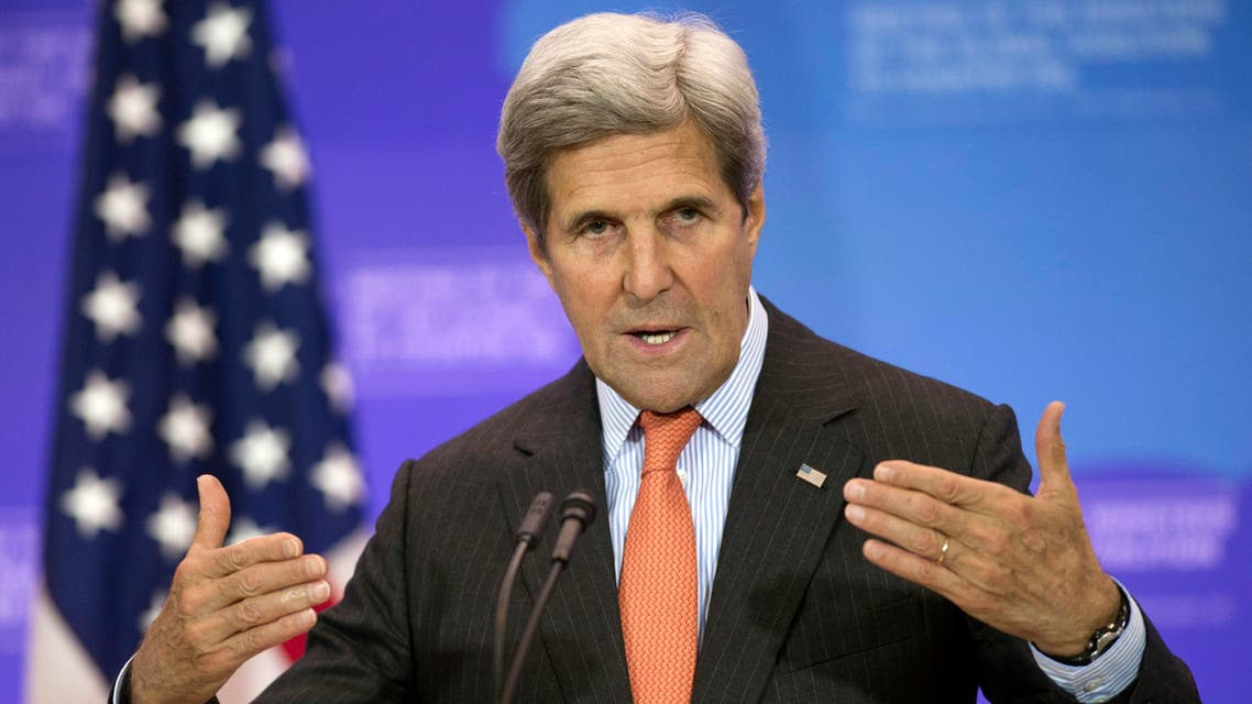 In this July 21, 2016 file photo, Secretary of State John Kerry speaks at a news conference at the conclusion of the Meeting of the Ministers of the Global Coalition to Counter ISIL at the State Department in Washington. Kerry is arriving in Africa on Monday, Aug. 22, 2016 for talks in Kenya and Nigeria on countering terrorism before visiting Saudi Arabia to discuss the conflict in Yemen.(AP)