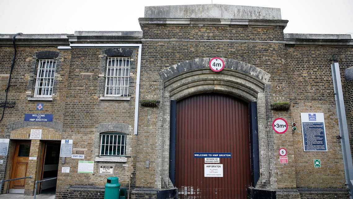 A general view of the main gate of HM Prison in London in 2015 (AFP Photo/Adrian Dennis)