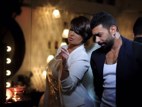 هنادي الكندري مع زوجها محمد الحداد