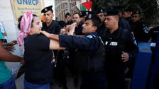 Protests in West Bank city after death of detainee