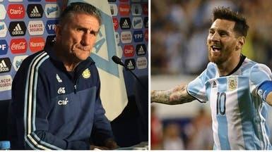 باوزا: الأرجنتين لن تعتمد على ميسي