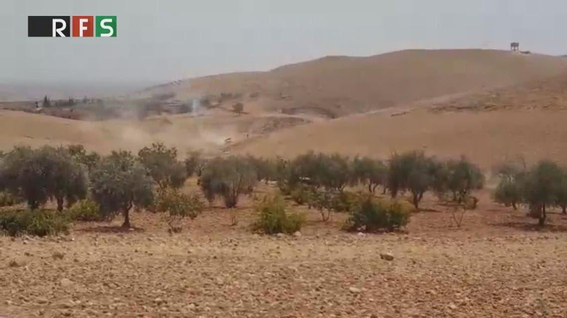 THUMBNAIL_ الجيش الحر على مشارف جرابلس بدعم من تركيا