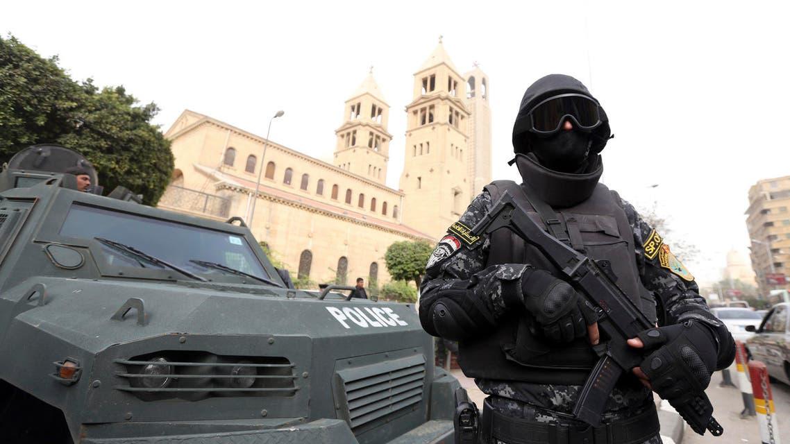egypt church guard