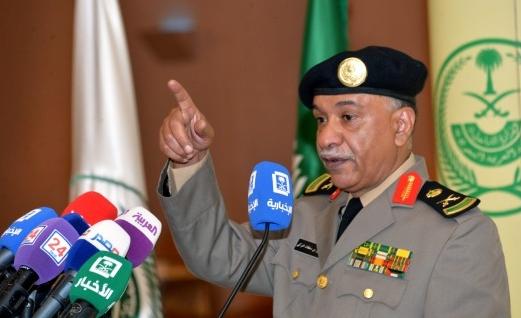 سرلشکر منصور الترکی سخنگوی امنیتی وزارت کشور سعودی