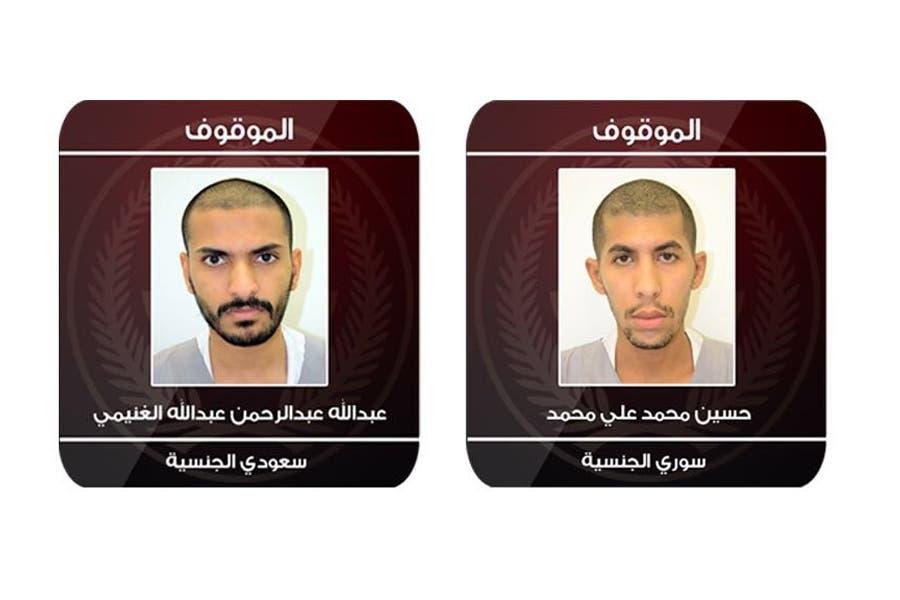 دو عامل انتحاری دستگیر شده