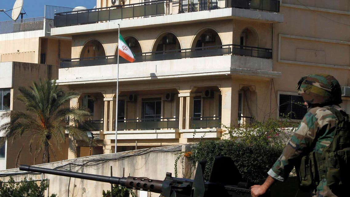 The Egyptian man leaked the document to an Iranian embassy official in Beirut, Lebanon. (Reuters)
