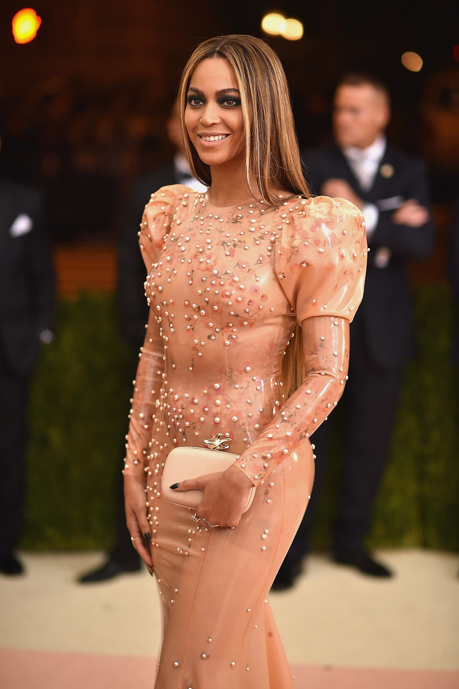 Beyonce is a good example of a pear shape. (File photo: AFP)