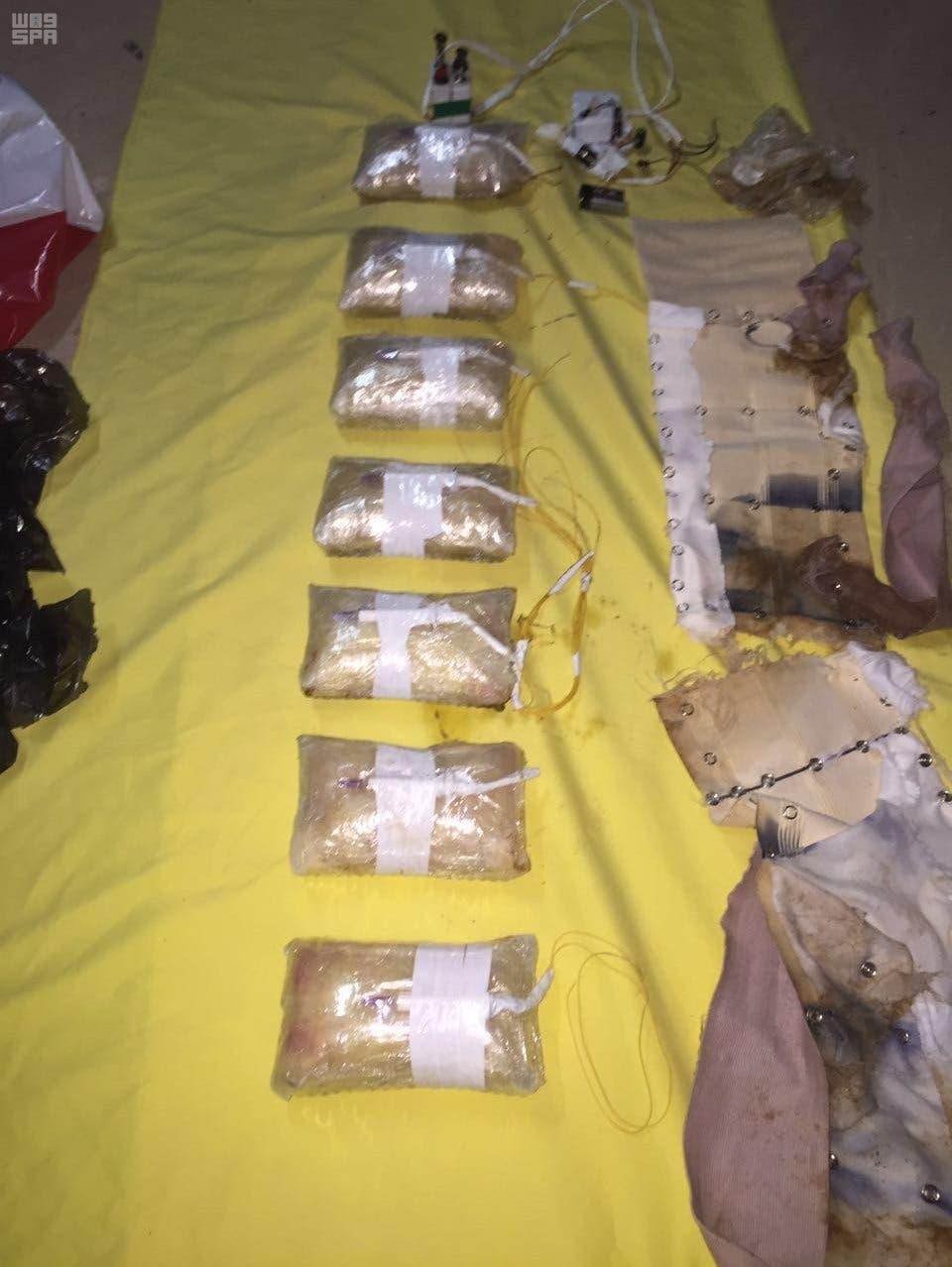 مواد منفجره کشف شده در حوزه عاملان داعش