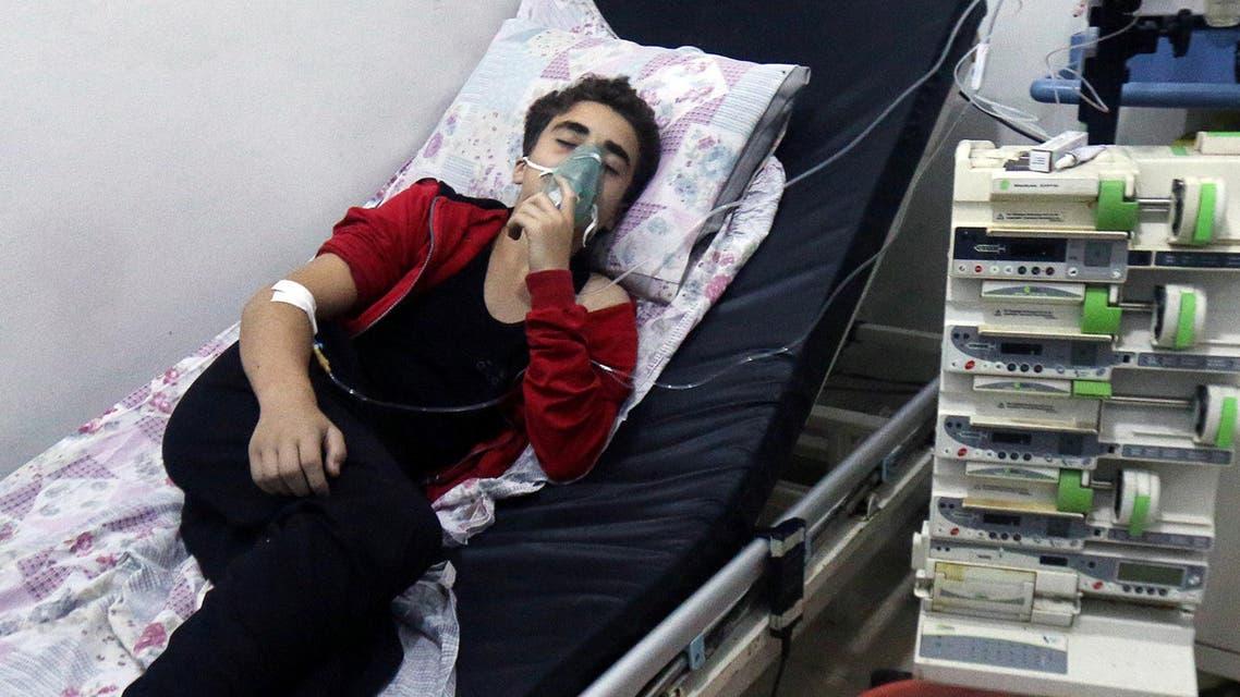 syrian hospitals (Reuters)