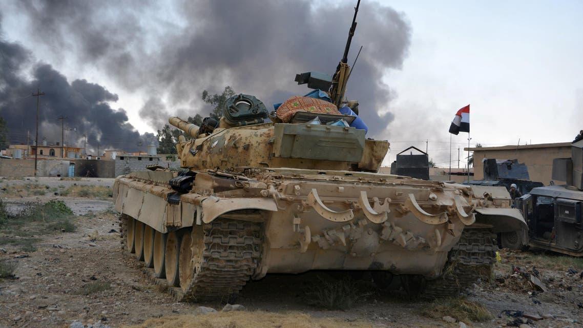 qayyara iraq tank